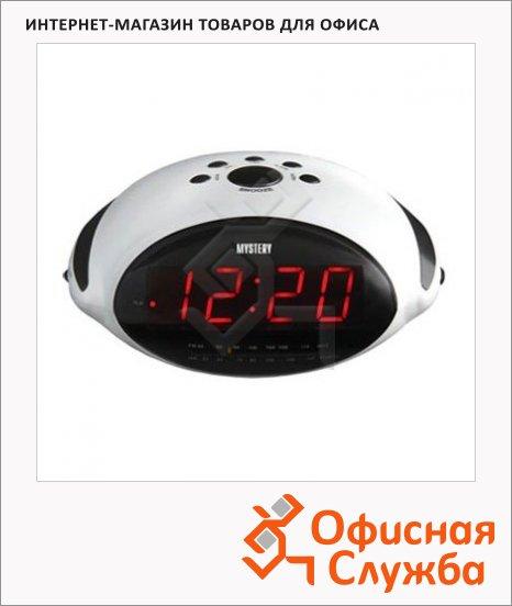 Радиобудильник Mystery MCR-45 белый, AM/FM