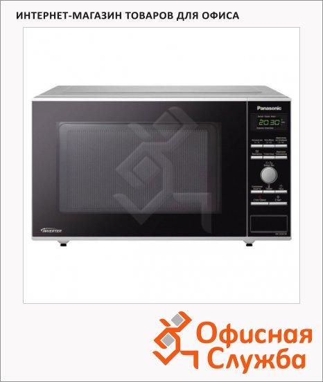 фото: Микроволновая печь Panasonic NN-SD361MZPE 23л 950Вт, серебристая