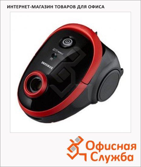 фото: Пылесос с мешком SC5491 2100 Вт черно-красный