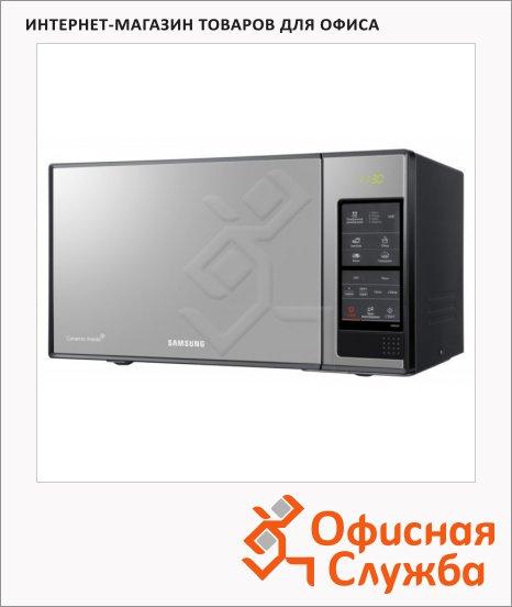 Микроволновая печь Samsung ME83XR 23 л, 850 Вт, черная