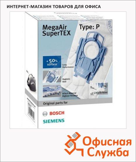Пылесборник для пылесосов Bosch BBZ41FP 4 шт + микрофильтр