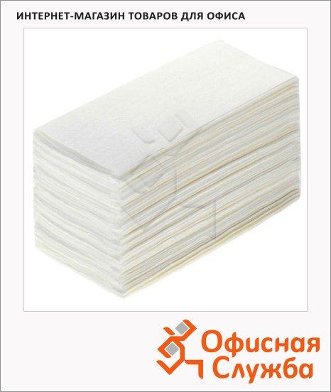 фото: Бумажные полотенца Lime листовые белые, V укладка, 200шт, 2 слоя, 160200