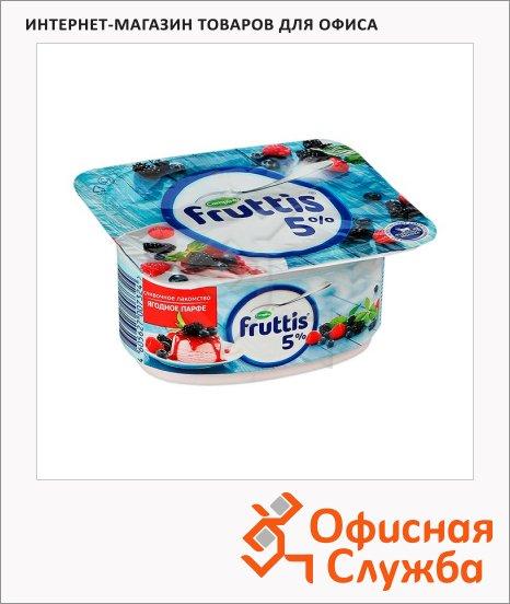 фото: Йогурт Сливочное лакомство ягодное парфе