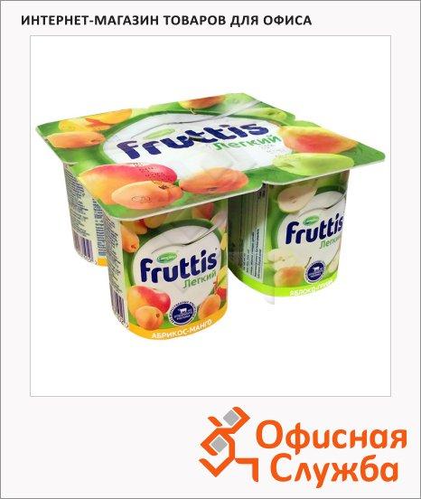 фото: Йогурт Fruttis Легкий абрикос-манго-яблоко-груша 0.1%, 110 г