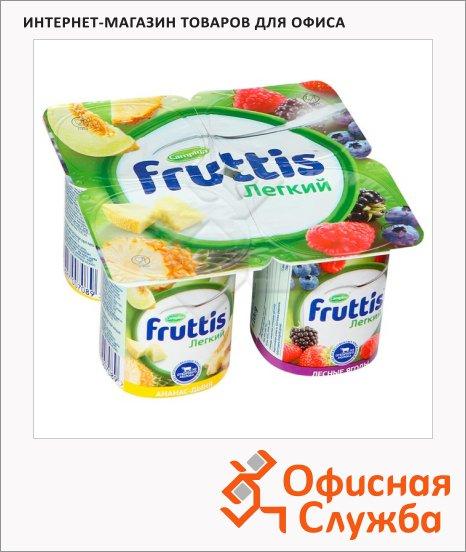 фото: Йогурт Fruttis Легкий ананас-дыня-лесные ягоды 0.1%, 110 г