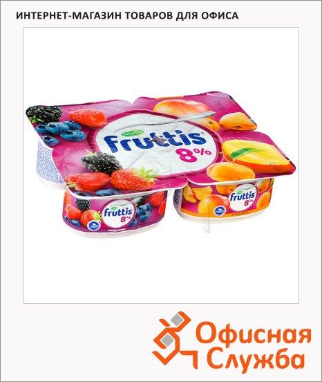 фото: Йогурт Fruttis Суперэкстра лесные ягоды-абрикос-манго 8%, 115г