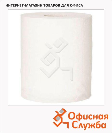 Бумажные полотенца Lime Matic эконом в рулоне, белые, 200м, 1 слой, 520200