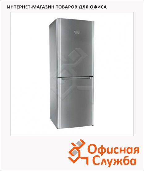 фото: Холодильник двухкамерный Hotpoint-Ariston HBM 1161.2 Х 278 л серебристый, 60х167х67 см
