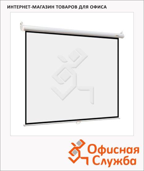 Экран для проектора настенный Digis 240х240см, ручной