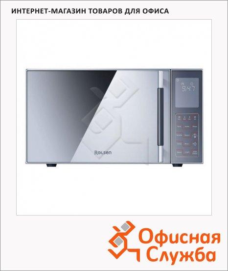 Микроволновая печь Rolsen MG2380SD 23 л, 900 Вт, серебристая