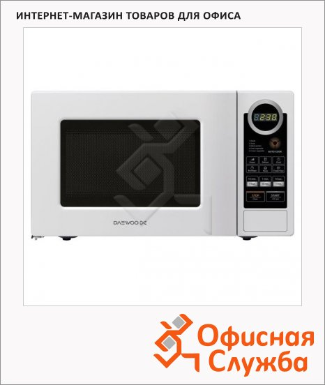 Микроволновая печь Daewoo KOR-6L7B 20л, 700Вт, белая