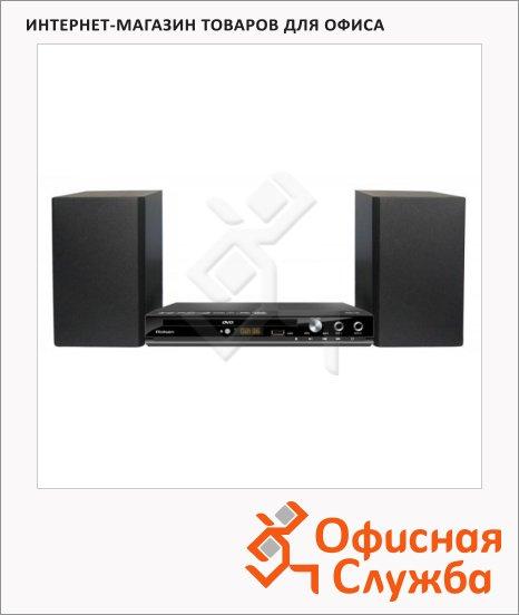 фото: Микросистема DVD RMD-120 черный CD/DVD/CD-R/CD-RW/DVD-R/DVD-RW