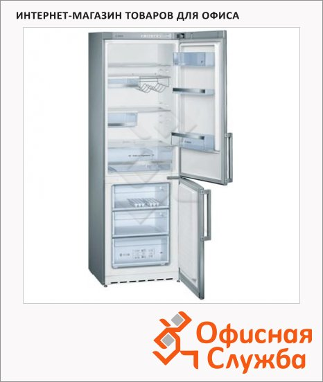 фото: Холодильник двухкамерный KG36VXW20R 318 л серебристый, 185x60x63 см
