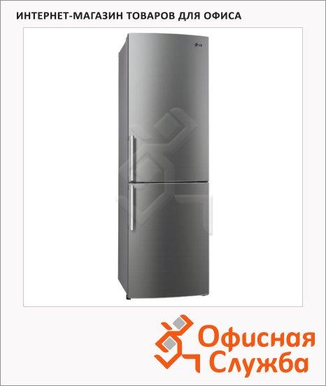 Холодильник двухкамерный Lg GA-B489YMQZ 360 л, сталь, 59.5x68.8x200 см