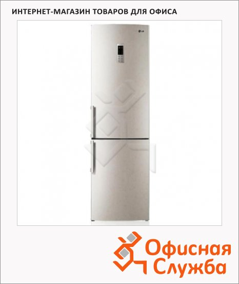 фото: Холодильник двухкамерный GA-B489YEQZ 394л бежевый, 59.5x68.8x200см