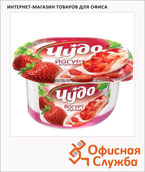фото: Йогурт Чудо джем-клубника 2.5%, 125г