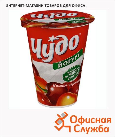 Йогурт Чудо Двойной вкус вишня-черешня, 2.5%, 315г