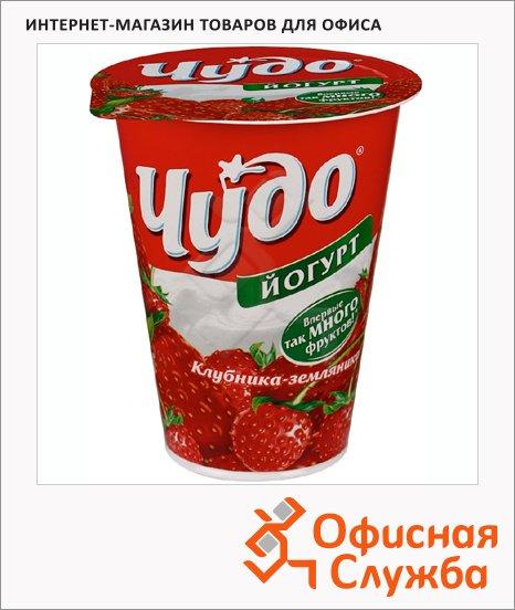 Йогурт Чудо Двойной вкус клубника-земляника, 2.5%, 315г