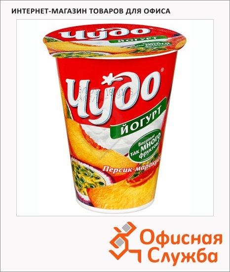Йогурт Чудо Двойной вкус персик-маракуйя, 2.5%, 315г