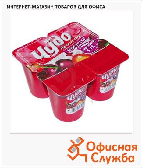 фото: Йогурт Двойной вкус Вишня-черешня