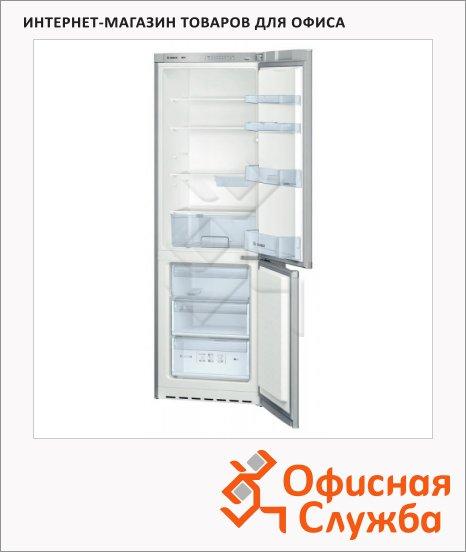 фото: Холодильник двухкамерный KGV36VL13R 318 л серебристый, 185x60x65 см