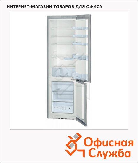 фото: Холодильник двухкамерный KGV39VL13R 352л серебристый, 200x60x65см