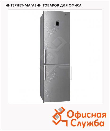 Холодильник двухкамерный Lg GA-B489ZVSP 335 л, серебристый, 59.5x68.8x200 см