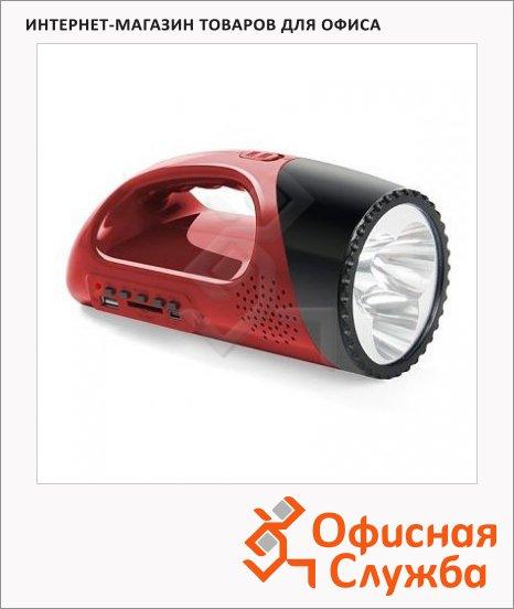 Магнитола Rolsen RBM511 красная, SD/USB