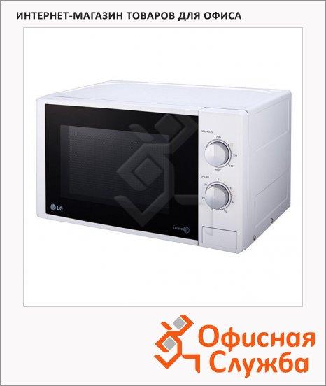 Микроволновая печь Lg MS2022DS 20 л, 700 Вт, серебристая
