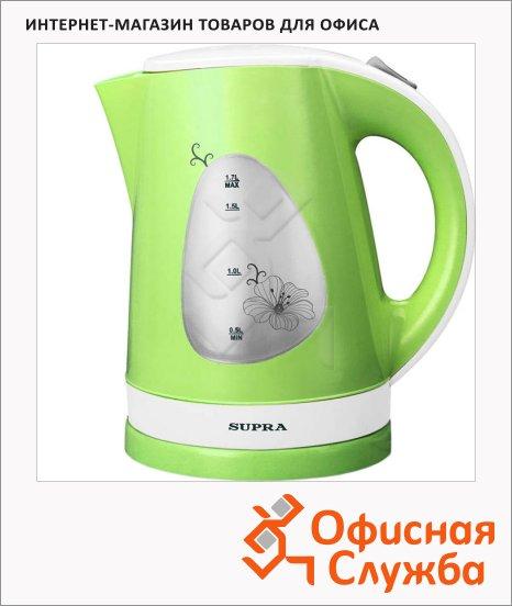Чайник электрический Supra KES-1708 фисташковый, 1.7 л, 2200 Вт