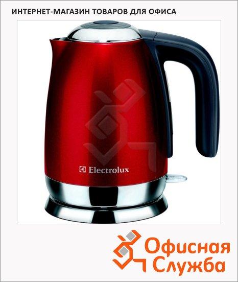 Чайник электрический Electrolux EEWA7100 красный, 1.5 л, 2200 Вт