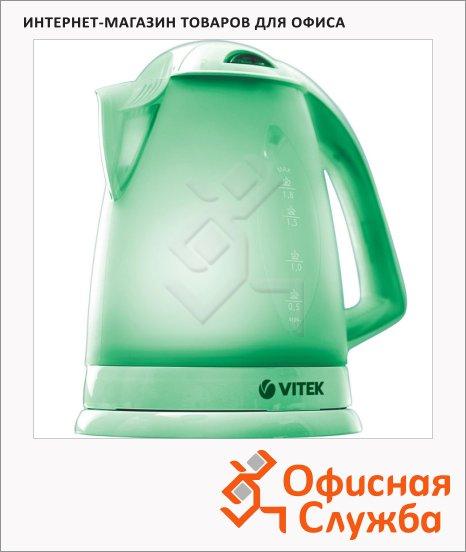 фото: Чайник электрический 1104-VT-02-G зеленый 1.8 л, 2200 Вт