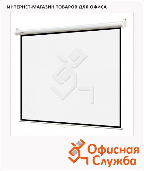 Экран для проектора настенный Digis 220х220см, ручной
