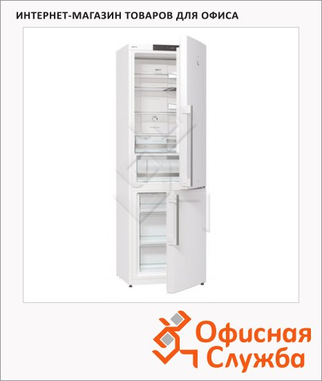 фото: Холодильник двухкамерный Gorenje NRK61JSY2W 325л белый, 60x62.5x180см
