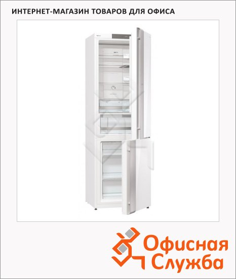 Холодильник двухкамерный Gorenje NRKORA62W 329л, белый, 60x64x185см