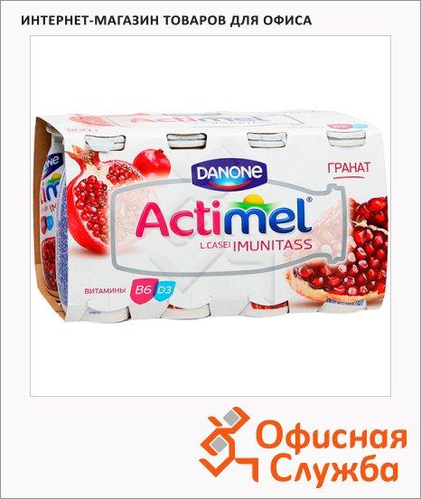 фото: Кисломолочный напиток Actimel натуральный гранат 100г х 8шт