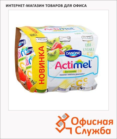 ������������� ������� Actimel 2.5% ����-��������, 100� � 6��