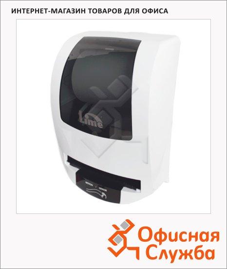 фото: Диспенсер для полотенец в рулонах Lime Matic белый maxi, сенсорный, AT108