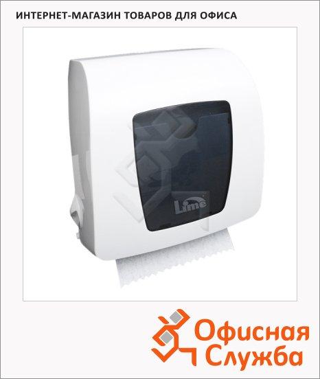 Диспенсер для полотенец в рулонах Lime Matic белый, mini, HF106