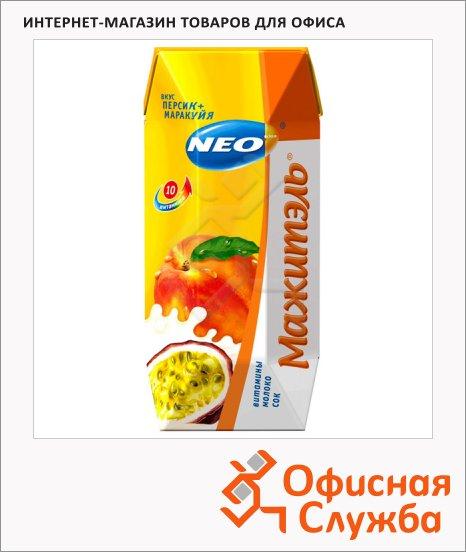 Молочносоковый напиток Мажитэль 0.5% персик-маракуйя, 250г