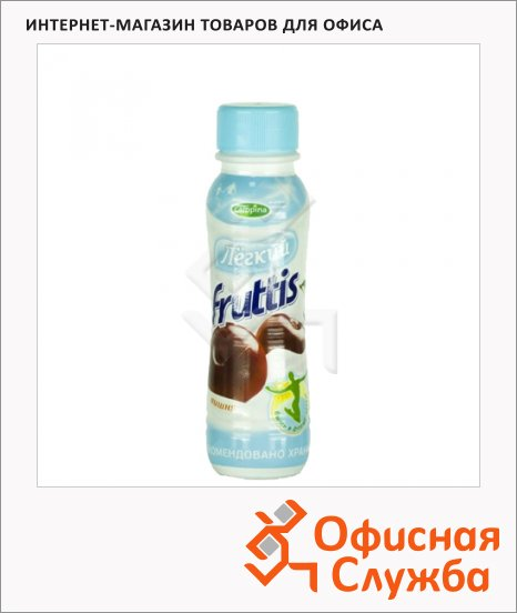 Йогурт питьевой Fruttis 0.1% вишня, 285г
