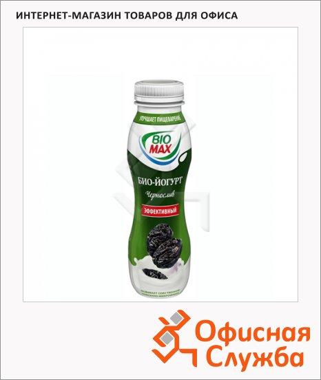 Йогурт питьевой Bio Max малина-черная смородина, 270г, 290г