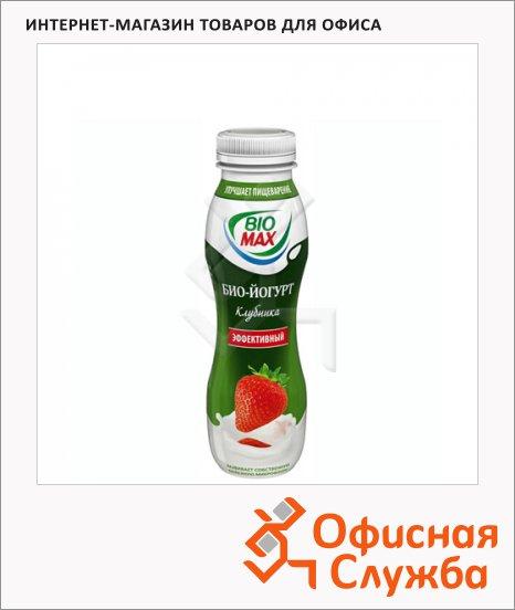 Йогурт питьевой Bio Max клубника, 270г