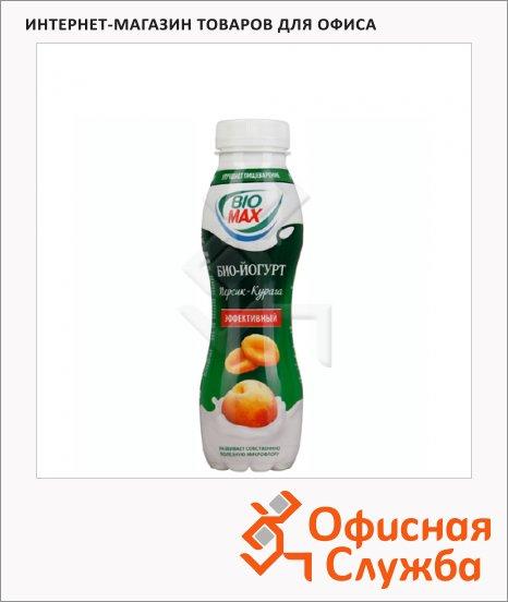 Йогурт питьевой Bio Max персик-курага, 270г, 300г