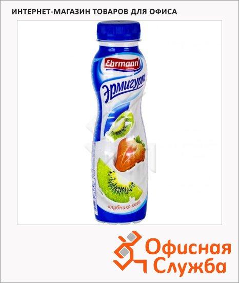 Йогурт питьевой Эрмигурт 1.2% клубника-киви, 290г