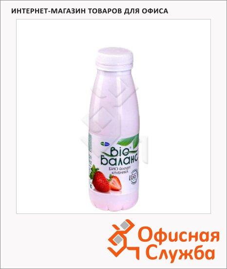 Йогурт питьевой Bio Баланс 1.5% клубника, 330г