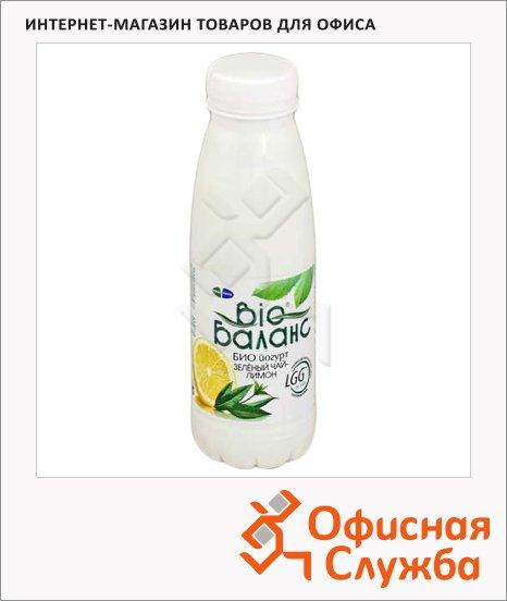 фото: Йогурт питьевой 1.5% Зленый чай-лимон 330г