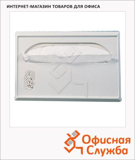 Диспенсер для индивидуальных покрытий на унитаз Lime Satin Maxi, металлик, A 52801S