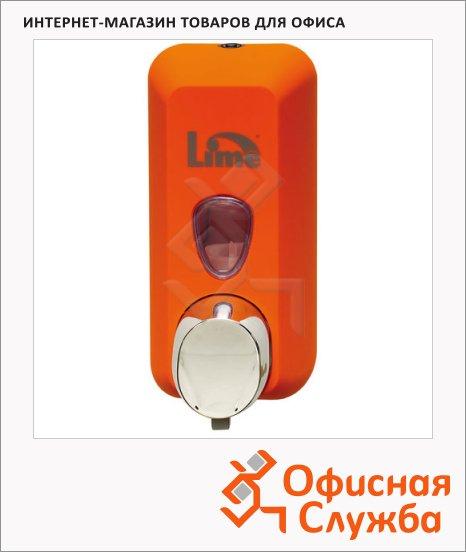 Диспенсер для мыла в картриджах Lime Color, оранжевый, 0.5л, A 71601ARS
