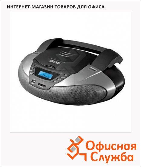 Магнитола Mystery BM-6108U серая, CD/CD-RW/USB/SD